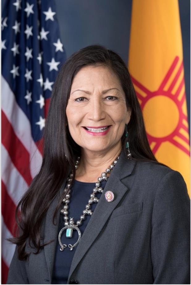 Portrait Of US Rep Deb Haaland