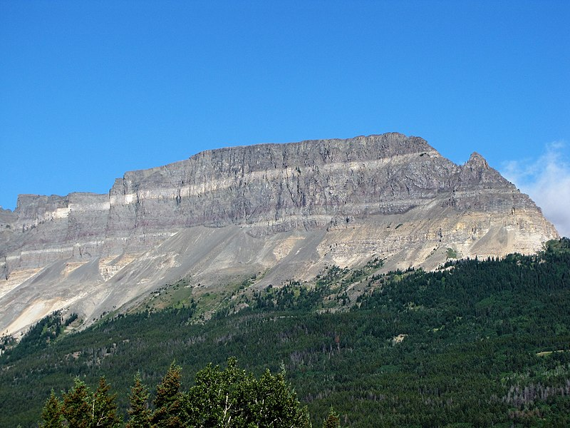 Singleshot Mountain In Glacier National Park Montana