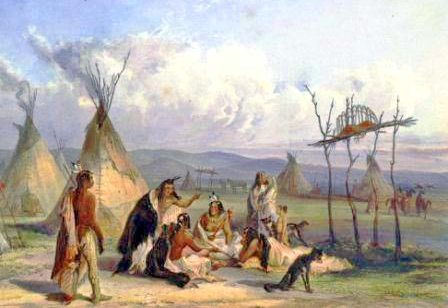 Sioux People Tepee