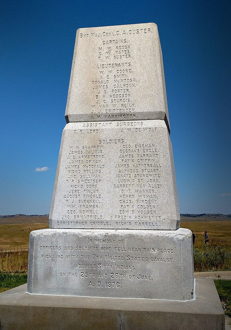 Soldier Memorial Little Bighorn