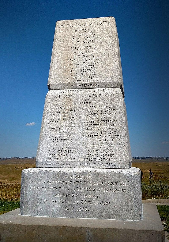 Soldier Memorial Little Bighorn