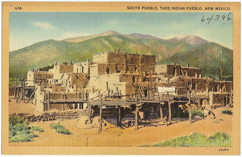 South Pueblo Taos Indian Pueblo New Mexico