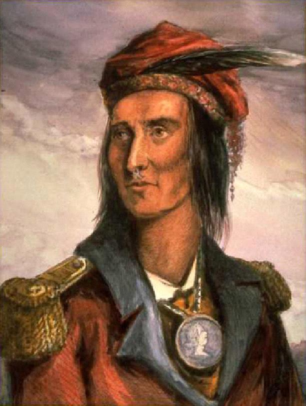 Tecumseh Shawnee Leader Of Tecumsehs War