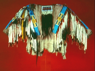 A Traditional Nez Perce Beaded Shirt