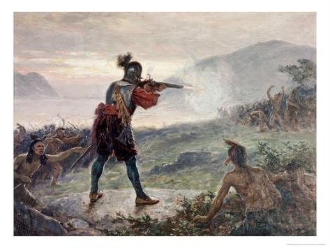 Champlains Battle With The Iroquois