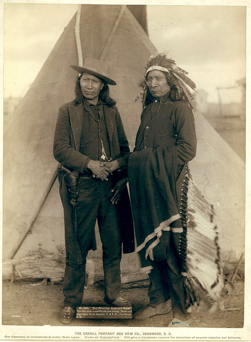 Chiefs Red Cloud And American Horse