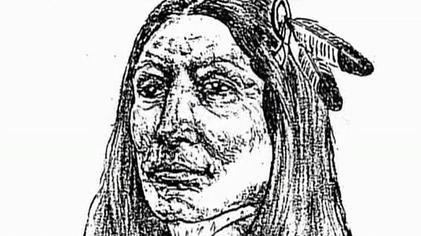 Crazy Horse Sketch