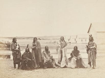 Dakota Chiefs At Fort Laramie