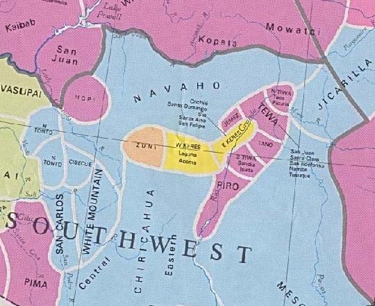 Early Indians Pueblos