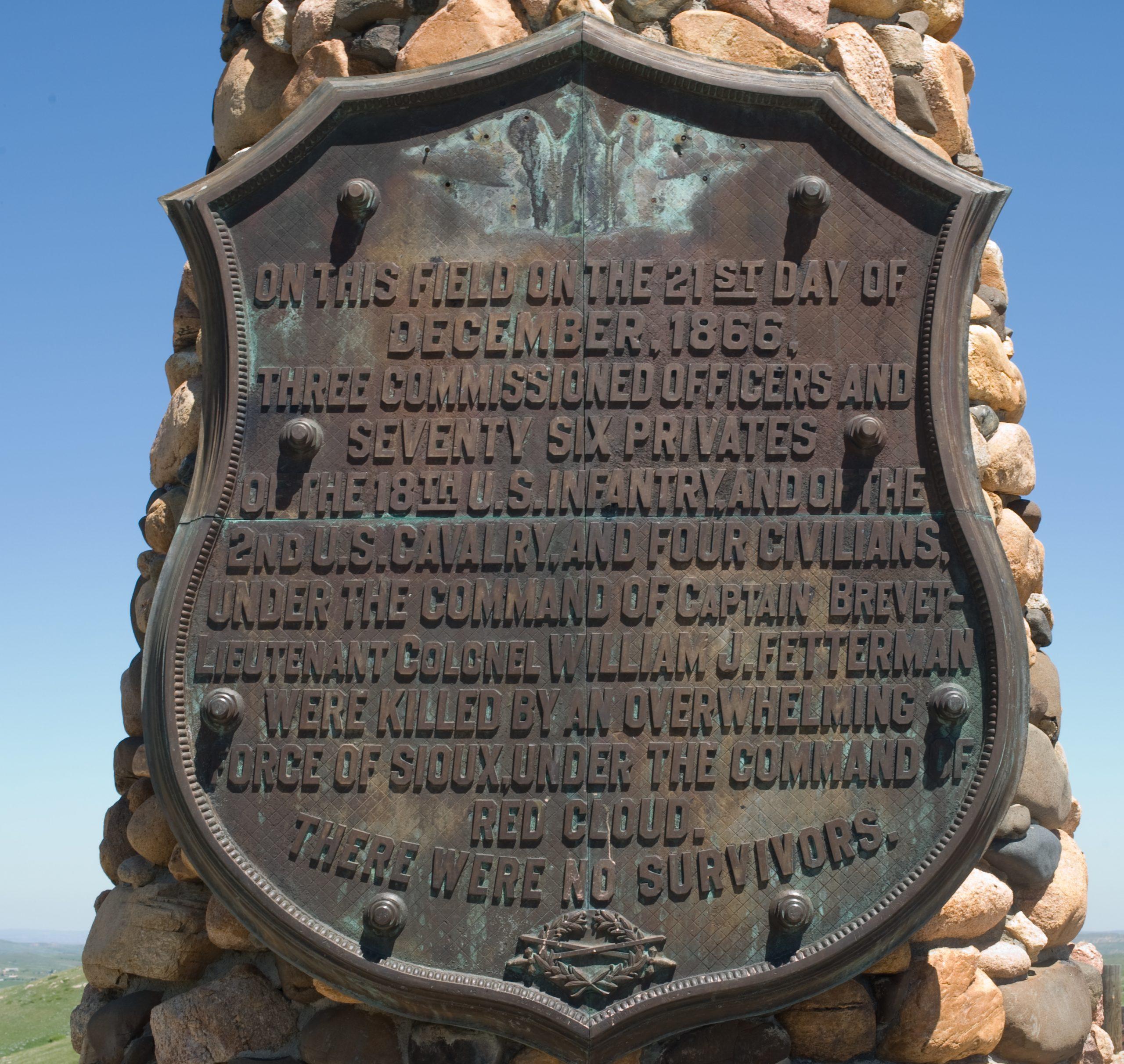Fetterman Monument