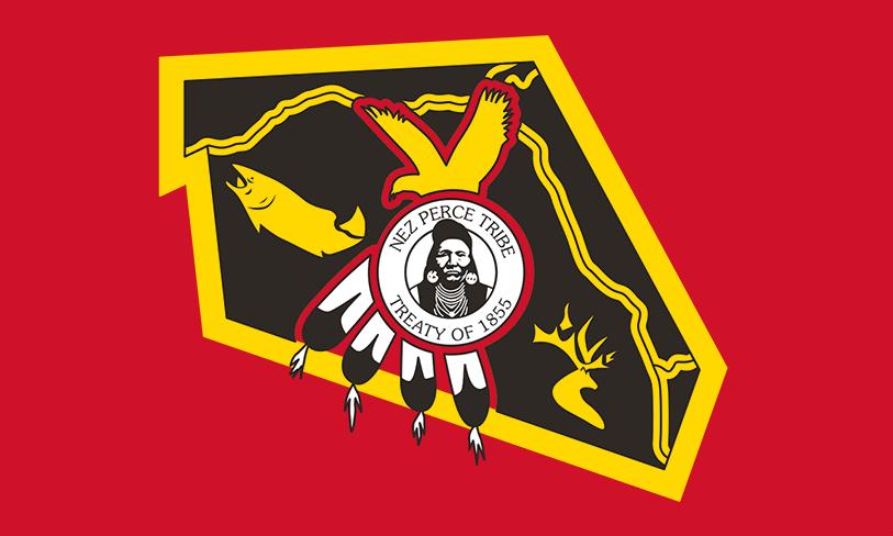 Flag Of The Nez Perce Tribe