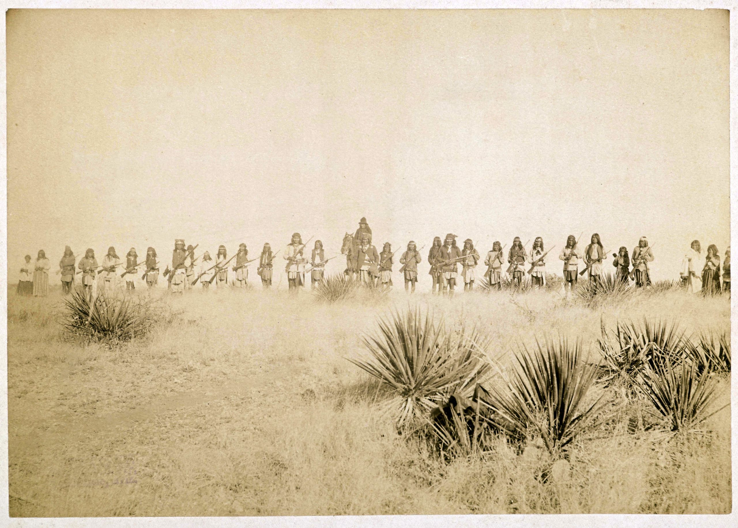 Geronimo And His Warriors