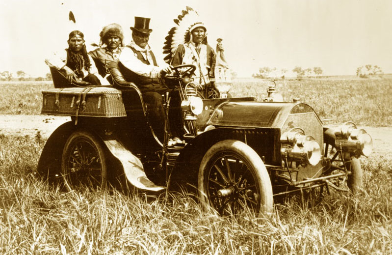 Geronimo In A Locomobile Model C