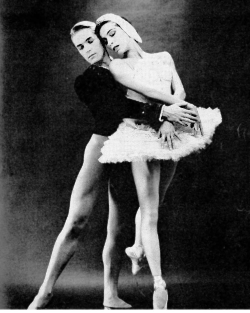 Maria Tallchief And Erik Bruhn