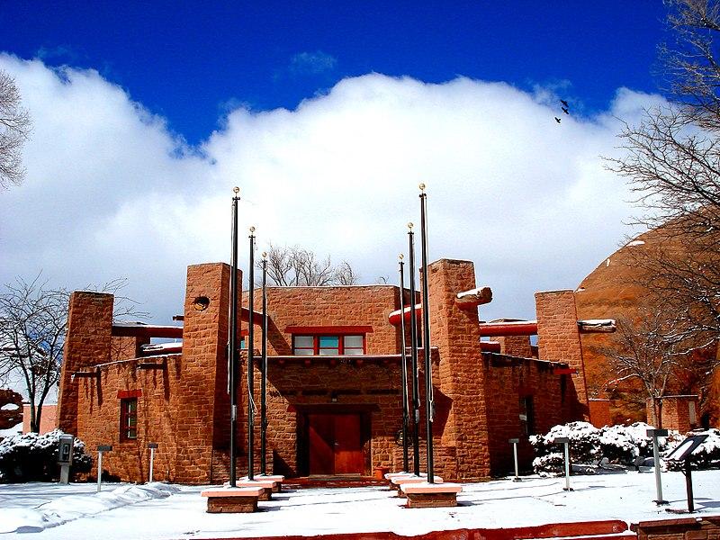 Navajo Nation Council Chambers Window Rock