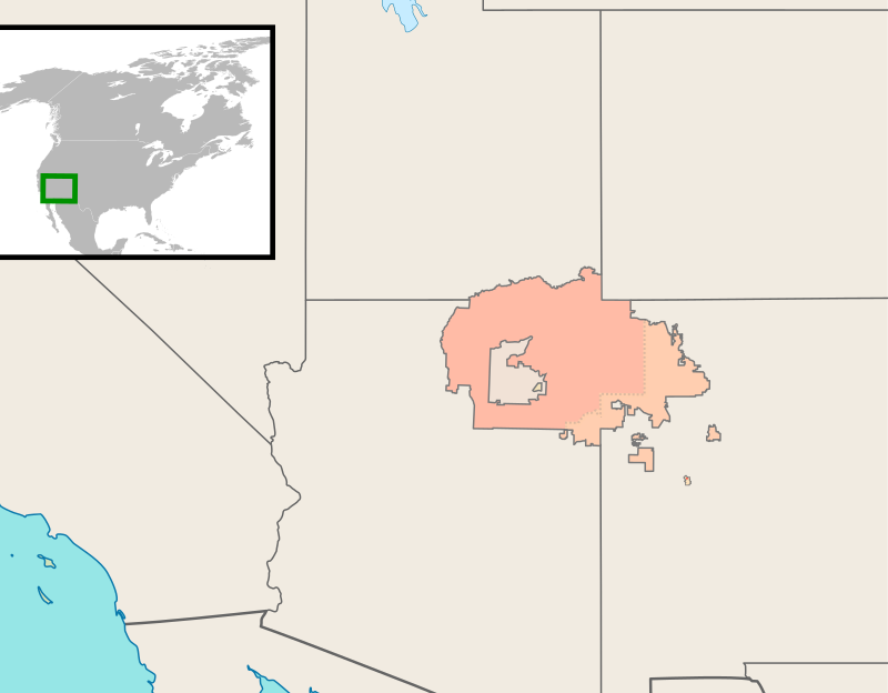 Navajo Nation Map