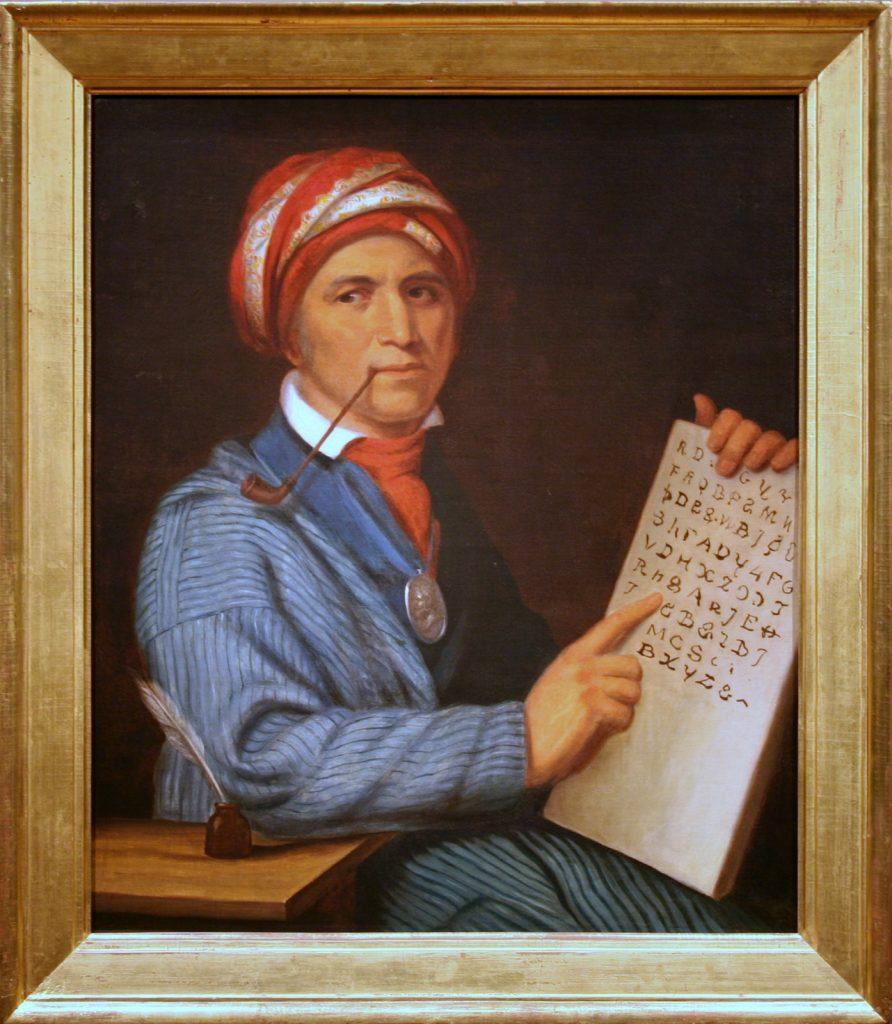 Sequoyah Painting