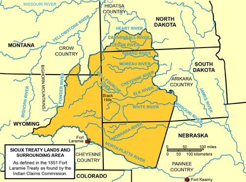 Sioux Treaty Lands