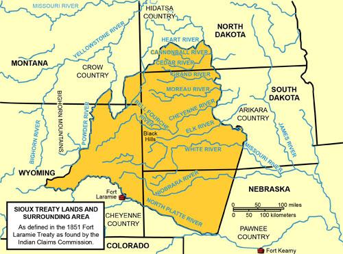 Sioux Treaty Lands