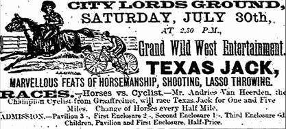 Texas Jack Wild West