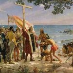 The Arrival Of Christopher Columbus To America