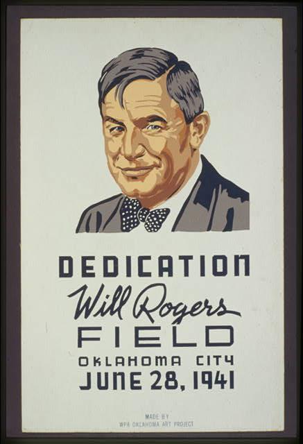 Will Rogers Field Dedication