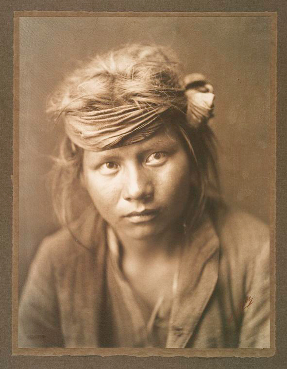 Young Navajo Boy
