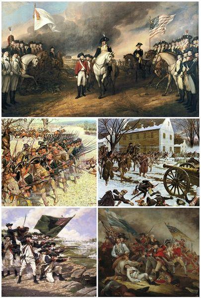 American Revolutionary War Mon