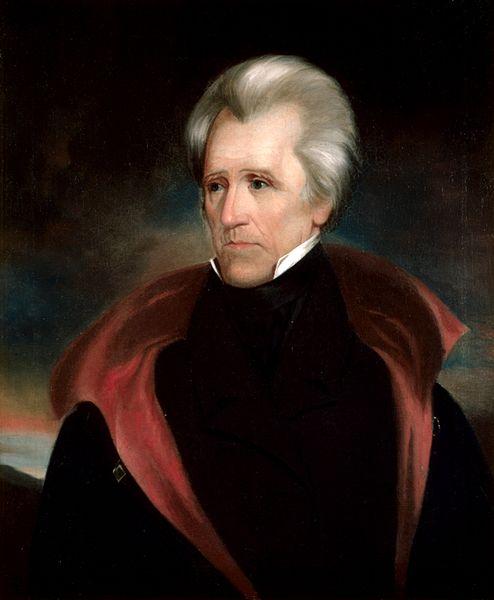 Andrew Jackson Head