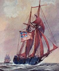 Continental Navy Ship Wasp