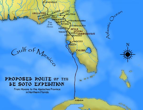 De Soto Map