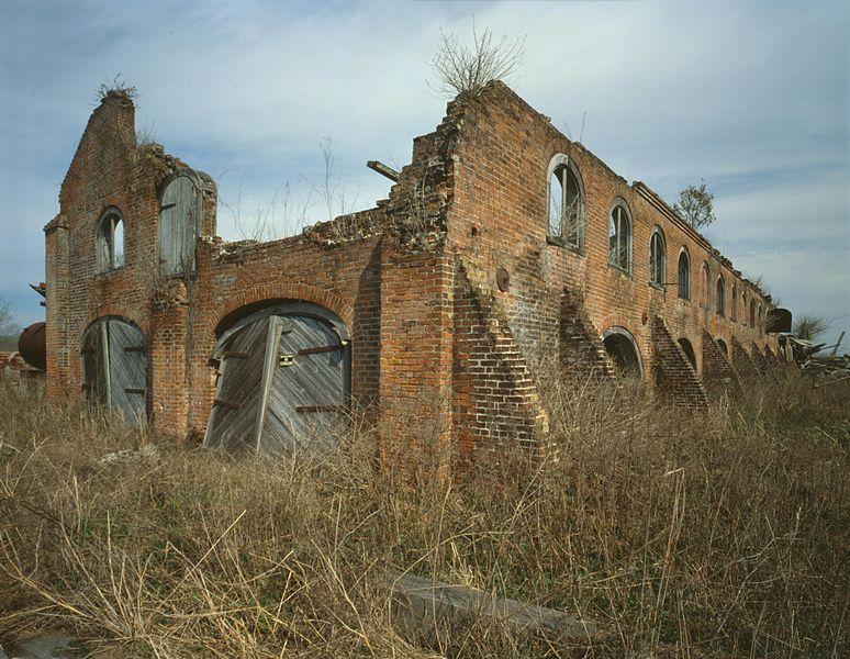 Ruined Mill At The Laurel Valley Sugar Plantation