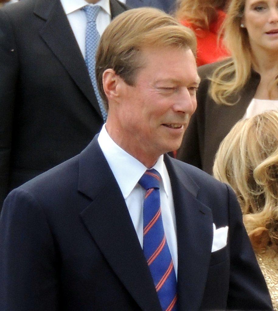 Grand Duke Henri Luxembourg Royal Wedding 2012