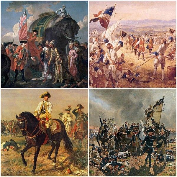 Seven Years War Collage