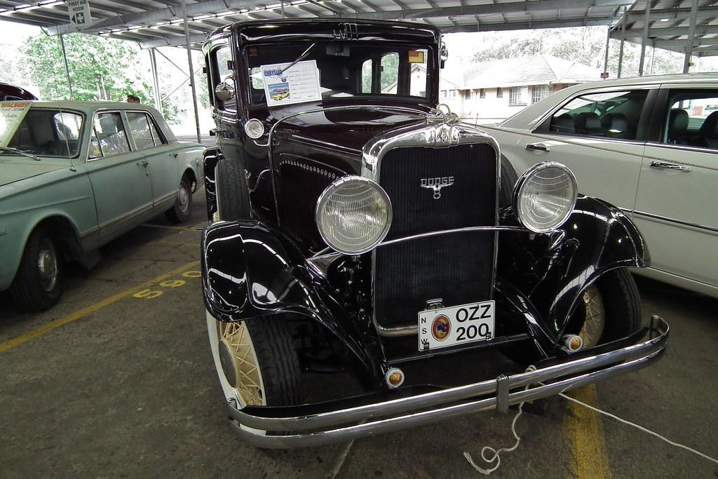 1930 Dodge DC Eight limousine
