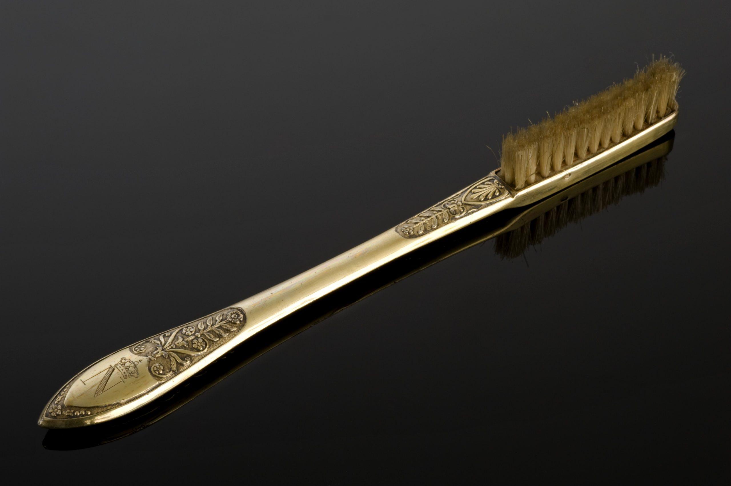 natural bristle toothbrush