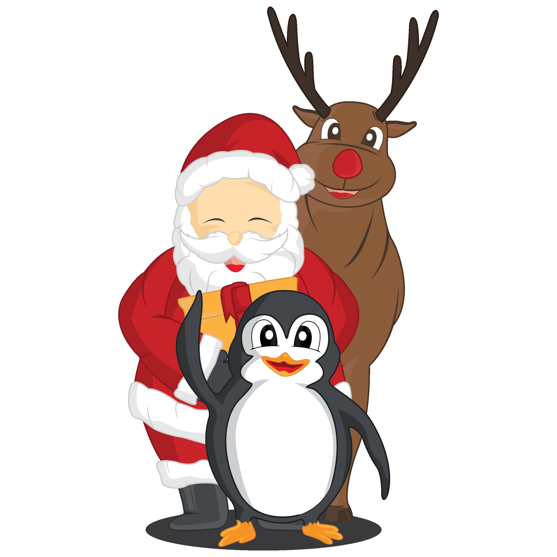 santa-rudolph-penguin