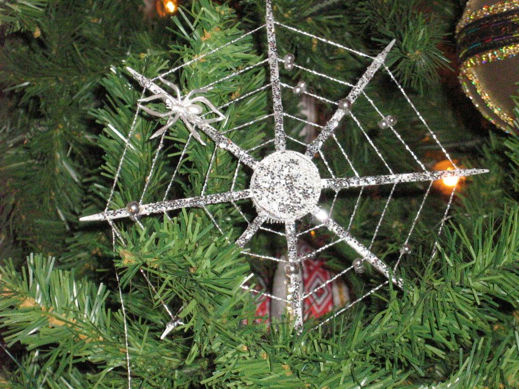 spider web ornament Ukraine