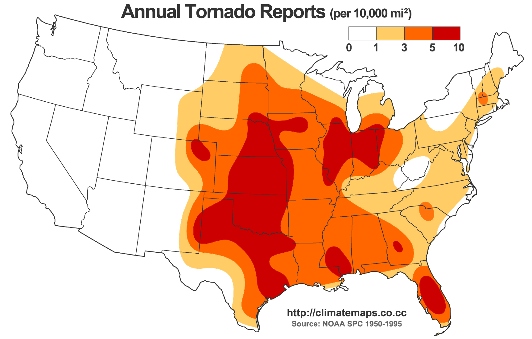 tornado spots USA