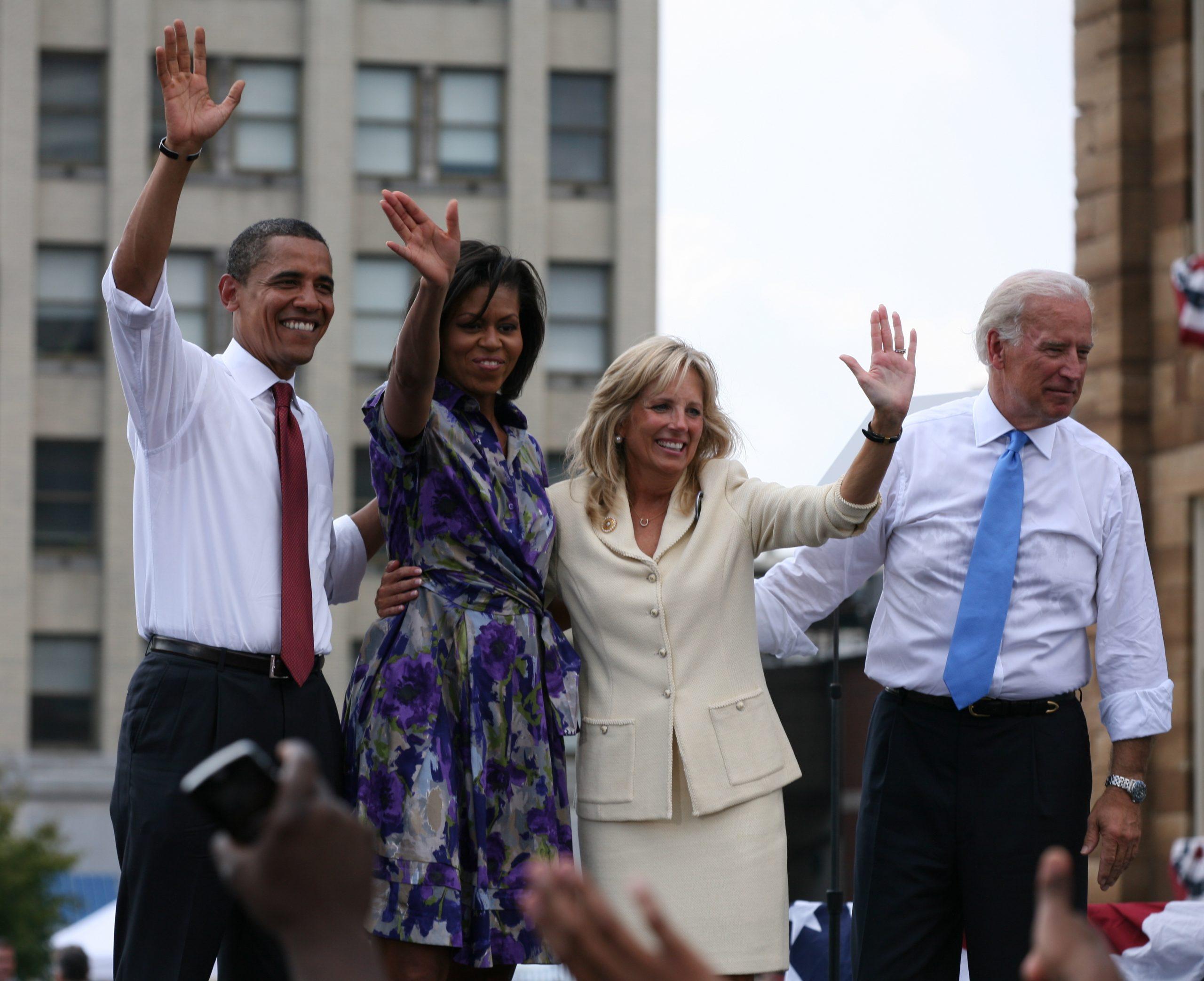 Obamas-Bidens